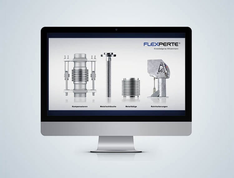 Flexperte Design Software for pipe supports Witzenmann